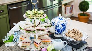Tea Sandwiches And Pastries - Home & Family