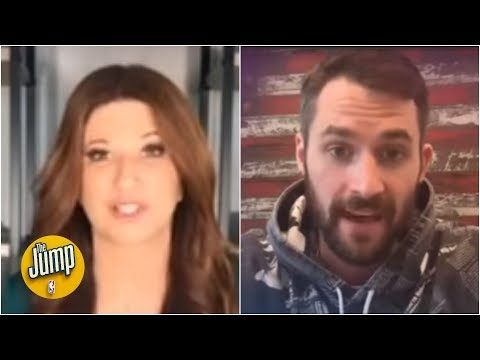 Kevin Love's message: Social distancing does not mean social isolation | The Jump