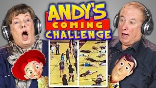 ELDERS REACT TO ANDY'S COMING CHALLENGE (#AndysComing) | Kholo.pk
