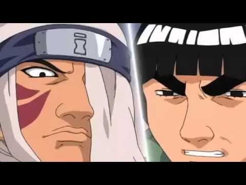 'Gaara vs Rock Lee'   Full Fight English Dub