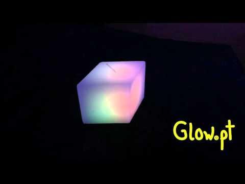 Vela de cera LED