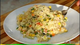 Jamaican Seasoned Rice Recipe | Recipes By Chef Ricardo