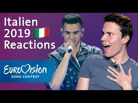 """Mahmood - """"Soldi"""" - Italien   Reactions   Eurovision Song Contest"""