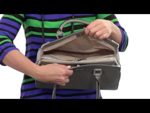 Calvin Klein On My Corner Saffiano Satchel  SKU:8445024