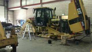 Caterpillar 966GII Loading In Container @ Smitma.com Timelaps