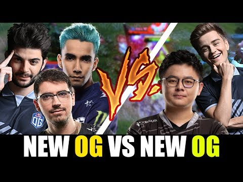 CEB Testing New OG Players! SumaiL And Saksa Vs NoOne N0tail And Midone Epic Gameplay 7.24 Dota 2