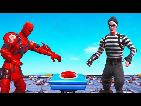 Simon Says DO NOT Touch The BUTTON! (Fortnite)