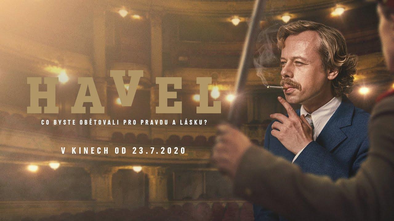Trailer: Havel, životopisný film o porevolučním prezidentovi