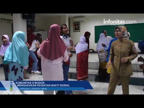 Komunitas D'Bodor Mengadakan Kegiatan Bakti Sosial