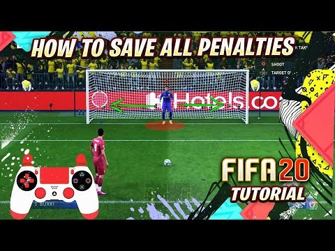 FIFA 20 HOW TO SAVE ALL PENALTIES TUTORIAL - HOW TO DEFEND Pks - SPECIAL TRICK
