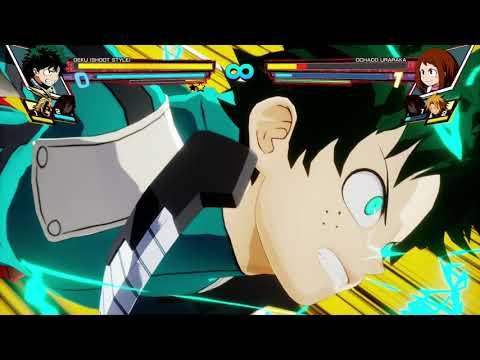 My Hero One's Justice Deku Shoot Style Arcade Mode Xbox One X
