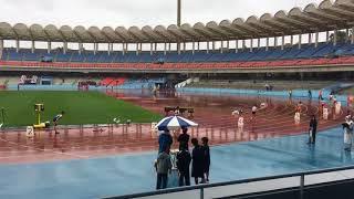 2018神奈川県高校総体女子4×100mR決勝