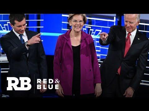 Warren, Biden and Buttigieg spoke the most at fifth Democratic debate