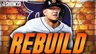 REBUILDING THE DETROIT TIGERS! | MLB The Show 20 Franchise