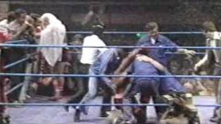 Boxing Ring Invasions