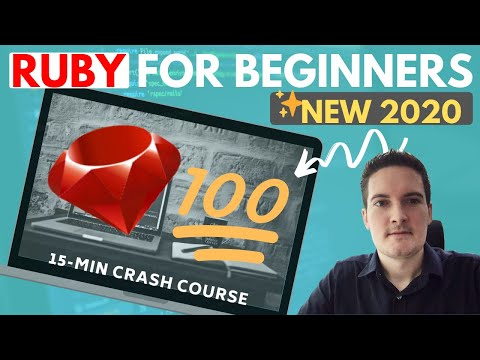 Ruby Programming Language for Beginners - Crash Course 2020