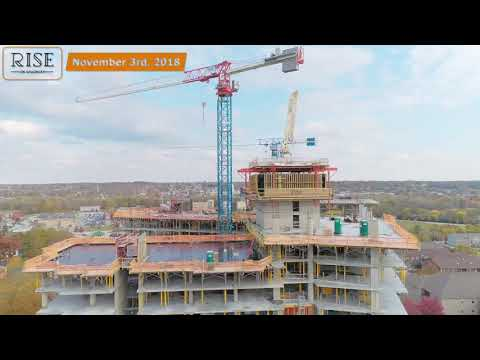 Rise on Chauncey | Construction Drone Footage | March 2019
