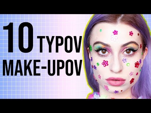 10 TYPOV MAKE-UPOV