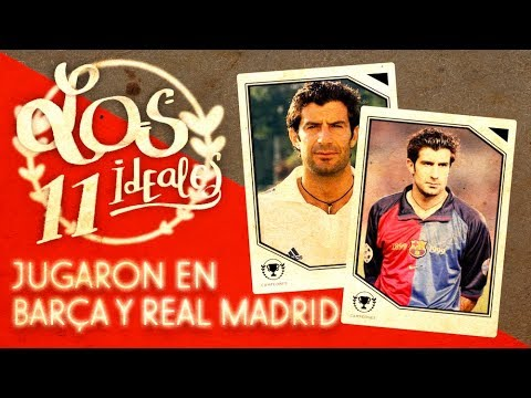 CRACKS que jugaron en REAL MADRID y BARÇA - 11 Ideal