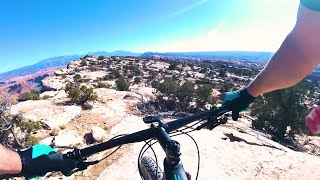 Mountain Biking the Magnificent 7 Trail Moab Utah MTB Part 2