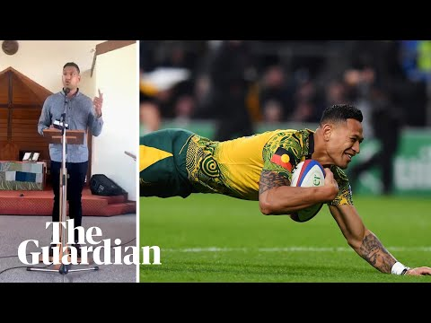 Israel Folau implies bushfires are God's punishment for same-sex marriage