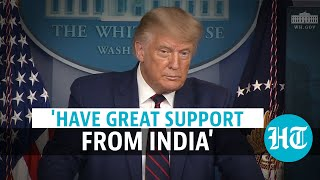 USA polls | Indian-Americans will vote...: Donald Trump on Nov 3 election - Download this Video in MP3, M4A, WEBM, MP4, 3GP