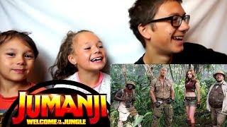 JUMANJI 2: WELCOME TO THE JUNGLE Trailer #1 Reaction!!!