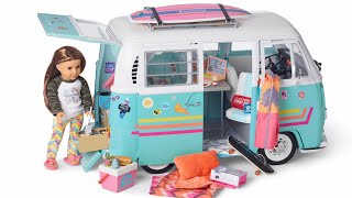 Amazing Surf Van For American Girl Joss Kendrick - 2020 Girl Of The Year - NEW
