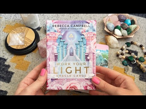 Work Your Light Oracle Cards unboxing + reading 💓