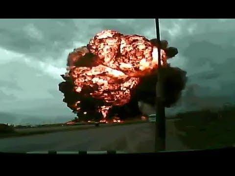 Cận cảnh chiếc boeing 747 nổ !!!!!