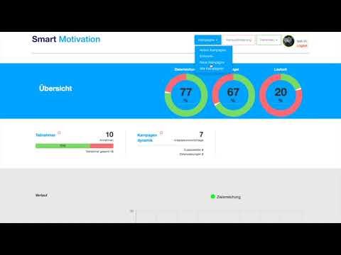 Gamification-Wettbewerbe für Vertriebsteams in wenigen Minuten aufsetzen und starten. Das Smart Motivation Erklärvideo zeigt, wie das geht.