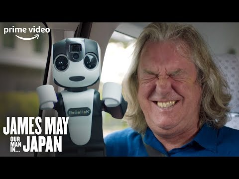 James May loses it during a guided tour of Kyoto by a robot