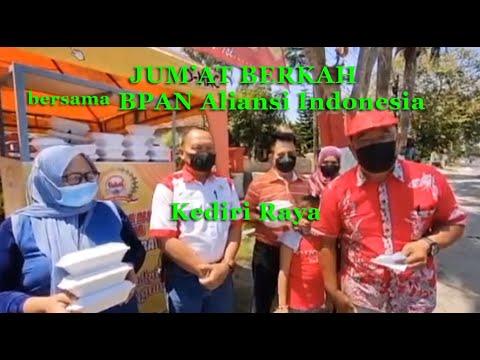 Jumat Berkah bersama BPAN Aliansi Indonesia Kediri Raya