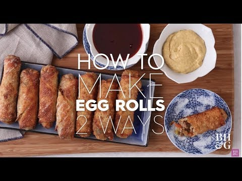 How to Make Egg Rolls   Basics   Better Homes & Gardens