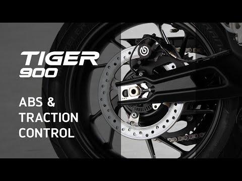 Nueva Triumph Tiger 900 – Novedades – ABS y Control de Tracción