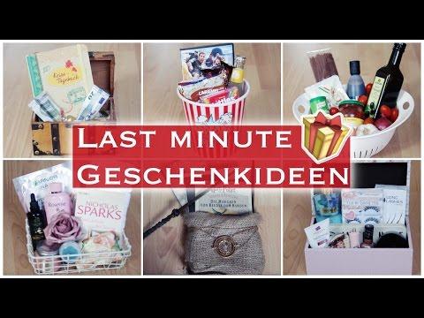 LAST MINUTE GESCHENKIDEEN - 11 DIY GESCHENKBOXEN FÜR JEDEN ANLASS