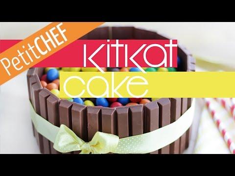 "Video Recipe ""KitKat Cake"", Step by step, Petitchef.com"