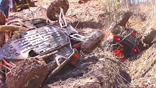 Technical SxS Trail Riding at its Finest - Polaris RZR vs Can Am Maverick - Pushing the Limits
