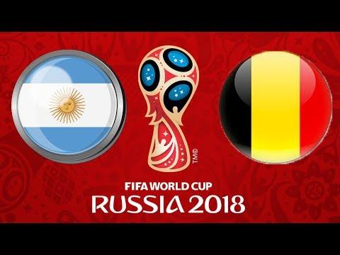 2018 FIFA World Cup Russia | ONLINE TURNAJ | BELGIE - ARGENTINA | ČTVRTFINÁLE | CZ/SK