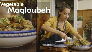 Palestinian Veggie Maqloubeh | Sahtein!