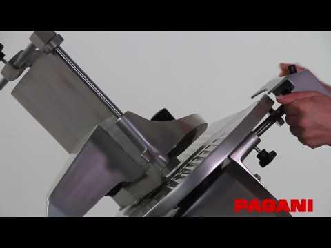 Proceso de Afilado de las cortadoras de fiambre Pagani