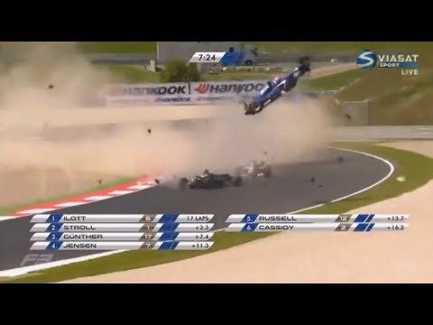 Худшие катастрофы всех времен - F1, Indycar, F3000. онлайн видео