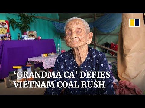 'Grandma Ca' defies Vietnam coal rush