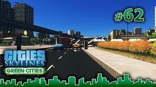 Cities Skylines GREEN CITIES – Grandes Obras #62 - PARQUES EN EL NUEVO BARRIO - Gameplay Español