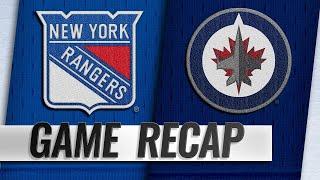 Scheifele, Jets rally late to down Rangers, 4-3