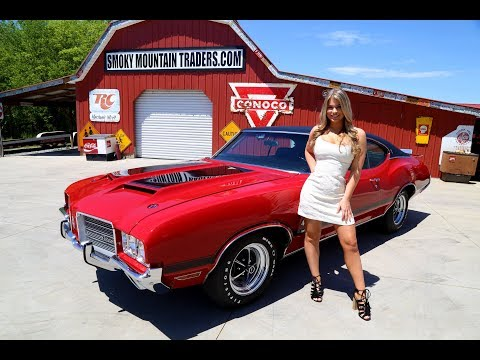 1971 Oldsmobile Cutlass W30 tribute Matching Numbers 350
