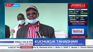 Gavana wa West Pokot awasihi madereva wa malori wapimwe Korona kabla ya kuingia kaunti hio |KTN MBIU
