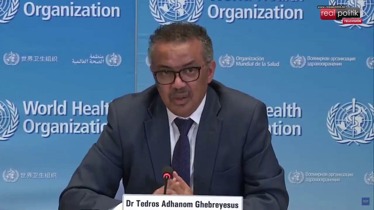 Organización Mundial de la Salud: Sesión informativa sobre el brote covid - 19