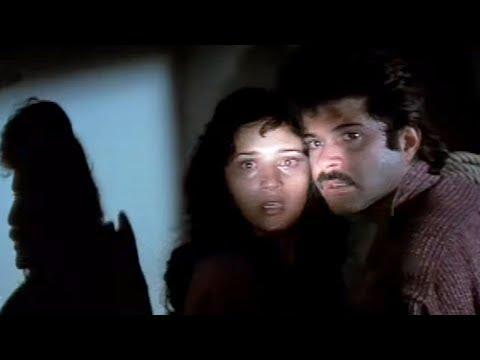 Anil Kapoor finds Madhuri Dixit   Tezaab   Emotional Scene 15/20