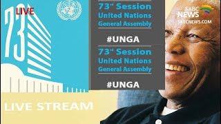 Opening plenary of the Nelson Mandela Peace Summit, UNGA: 24 Sept 2018 | Kholo.pk